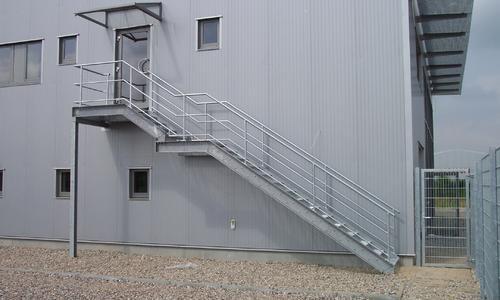 Treppenbau bei JKS Metallbau